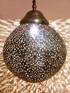 Vintage Moroccan light pendant light Moroccan Interior