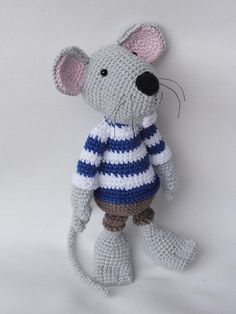 Looking for your next project? You're going to love Rumini the Mouse Amigurumi Crochet by designer IlDikko. - via @Craftsy