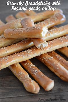 How to make Egyptian Bosomat Brad Sticks - Middle Eastern Crunchy Bread Sticks flavored with Anis and Fennel