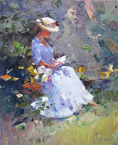 Risultati immagini per boris prokazov Classic Art, Art Painting, Fine Art, Impressionist Art, Art Painting Oil, Painting, Impressionist Paintings, Art Movement, Canvas Painting