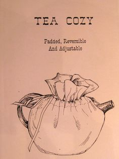 Tea Cozy Pattern as a PDF file by TimelessCalico on Etsy, $5.00