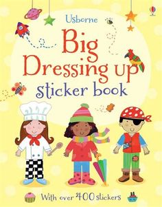 """Big dressing up sticker book"" at Wise Owl Kids Home Learning, Preschool Learning, Owl Kids, Young Wedding, Big Dresses, Book Gifts, Paperback Books, Love Book, Free Books"
