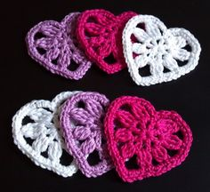 Hey, I found this really awesome Etsy listing at https://www.etsy.com/listing/157018258/pink-violet-white-handmade-crocheted