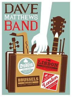 DMB Poster - Europe Tour 2007