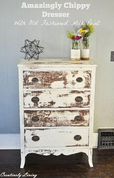 Amazingly Chippy Dresser