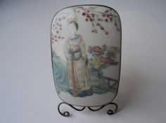 Vintage Miniature Chinese Hand Painted by EraAntiquesandFinds, $75.00