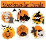 We think these decals are spooktacular! They're a great decorative touch for #halloween!