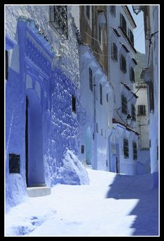 Street - Chefchaouen, Tetouan Blue City, Mille, Mediterranean Sea, Science Nature, Morocco, Palace, Cities, Destinations, Africa