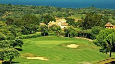Golfcourse in Spain, golfbaan in Spanje