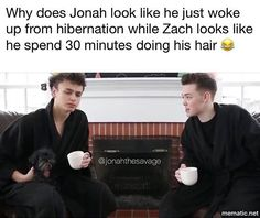 jonah is me in the morning