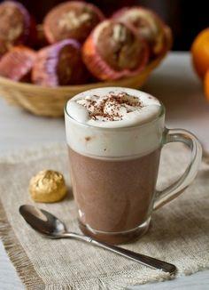 Холодный кофе с мороженым