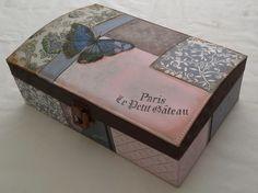 pintura en madera vintage - Buscar con Google