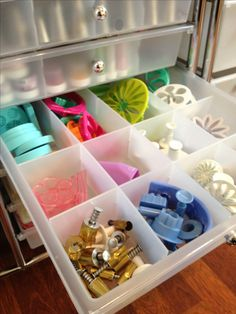 Keeping my baking tools and goodies organized!