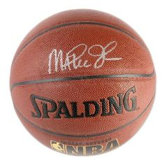Signed Magic Johnson Ball - I o silver) - Mounted Memories Certified - Autographed Basketballs by Sports Memorabilia. $292.25. This indoor - outdoor basketball has been personally hand signed by Lakers legend Magic Johnson. This product is officially licensed by the National Basketball Association and comes with an individually numbered; tamper evident hologram from Mounted Memories. To ensure authenticity, the hologram can be reviewed online. This process helps to ensur...