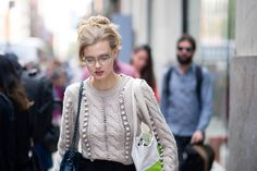 Street Style From New York Fashion Week, Day Six Lindsey Wixson