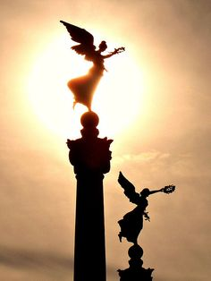 Two Flying Angels by eagle-ffm, via Flickr