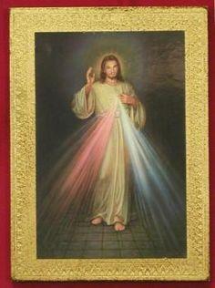 """5 x 7"""" Divine Mercy Florentine Plaque"""