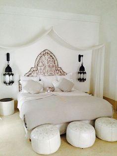 Des chambres dans le style marocain