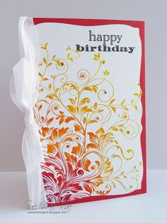 Leafy Vines by Stampin Sue, via Flickr by kay