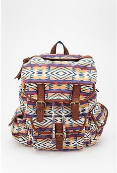 7963285f0d7d Ecote Around the World Backpack Canvas Backpack