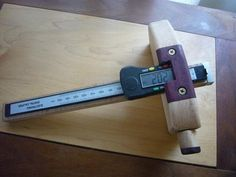 """Kebiki""  Japanese Marking Gauge now digitized--it's not the sexiest marking gauge ever, but it is damn accurate."