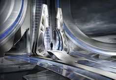 Tomorrowland movie concept art