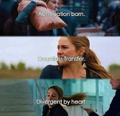 How many times have you watched the divergent film? And If you could hang out with anyone in the divergent series except Tris and Four. I would want to meet Christina Divergent Memes, Divergent Hunger Games, Divergent Fandom, Divergent Trilogy, Divergent Insurgent Allegiant, Insurgent Quotes, Divergent Tattoo, Divergent 2014, Veronica Roth