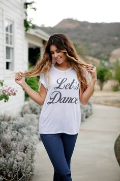 ROYAL RABBIT Let's Dance flowy modal tee