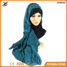 Check out this product on Alibaba.com App:2016 Fashion plain lace embroidered cotton shawls muslim Long hijabs winter scarves https://m.alibaba.com/QrURRv