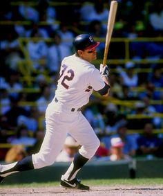 Carlton Fisk. Everyone loves Pudge, except me. He never did anything wrong to me. But, I don't like him. Plus he's slow. Catchers take a beating and I've learned to respect them and their crappy averages as I've grown older. But Mr. Fisk shall remain in my doghouse in perpetuity.