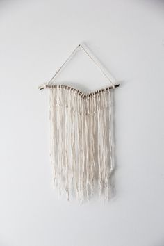 Natural Driftwood Wall Hanging by Hummusbird on Etsy, $20.00