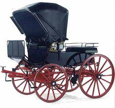 Mail phaeton 19th century
