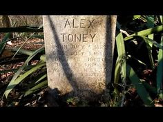 A creepy 130 year old cemetery and other cool stuff in Palmetto, Fl - YouTube