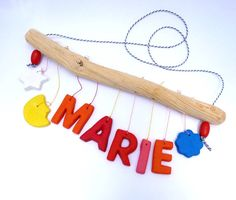 Items similar to Baby mobile (Marie) // customized new born baby gift on Etsy Clothes Hanger, Room, Baby Room Girls, Bebe, Petite Fille, Coat Hanger, Bedroom, Clothes Hangers, Clothing Racks