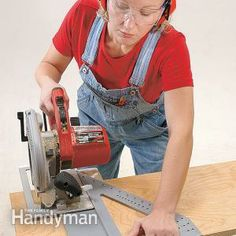 Here S A Very Simple Jig To Cut 45 Degree Angles On Your