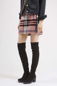 COCKTAIL High Leg Heeled Boots - Topshop USA