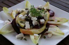 lipkowy domek: Sałatka z pieczonych buraków i jabłek . . .
