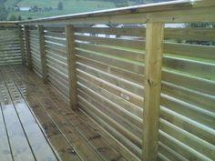 Bilderesultat for liggende rekkverk veranda Deck Railings, Porch, Brick, Pergola, Backyard, Outdoor Structures, Wood, Inspiration, Outdoors