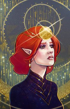 Lavellan Tarot card by Avionetca on DeviantArt