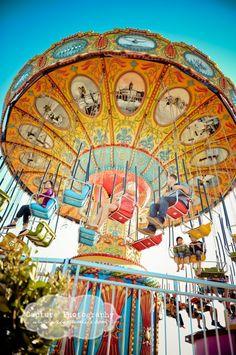Ride Carnival Swings