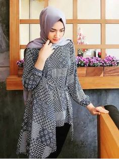Party Gamis Models For Fat Women Model Baju Hijab, Model Kebaya, Model Dress Batik, Batik Dress, Kimono, Blouse Batik Modern, Batik Muslim, Dress Muslim Modern, Batik Blazer