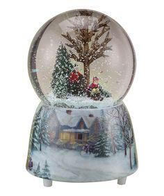 Musical Sledding Globe #zulily #Holiday #Christmas #Decor