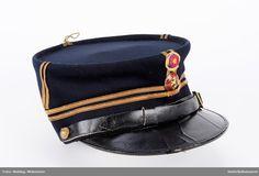 Militærlue, kopi, løytnants grad Military Uniforms, Captain Hat, Hats, Hat