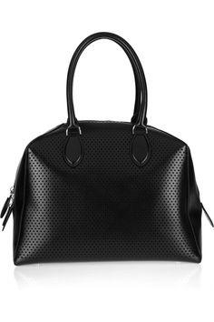 Alaïa Perforated leather tote 2013