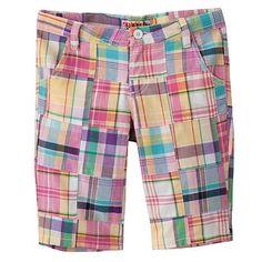 My Hand-Me-Down Plaid Shorts