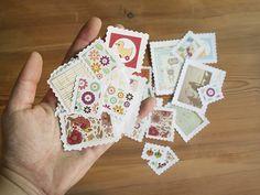 postales viajeras: sellos para adornar | milowcostblog♥ Washi, Embellishments, Diy, Blog, Regalos Ideas, Cards, Snail Mail, Envelopes, Scrapbooking