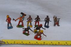 Collection Vintage Lead Native American Wild West Indians Britain's | eBay