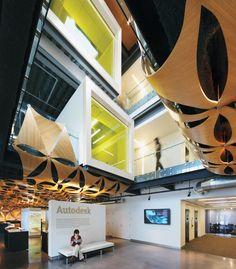 2009. Firm: Jacobs. Project: Autodesk, Waltham, Massachusetts. Photography by Jeff Goldberg/Esto.