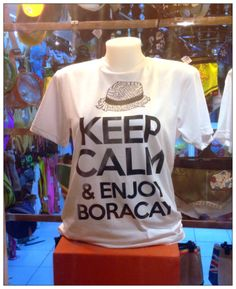 From the article 'Keep Calm & Enjoy Boracay' from 99boomerangs.com Keep Calm, T Shirts For Women, Mens Tops, Stay Calm