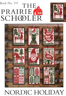 Just Cross Stitch in Limerick,PA: 2013- Prairie Schooler- Nordic Holiday 2013